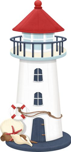 235x500 Old Lighthouse Cliparts