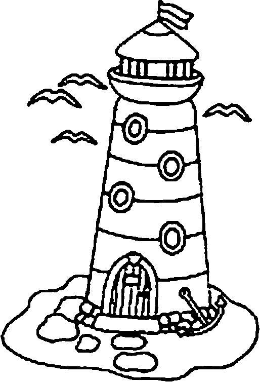 514x754 17 Best Lighthouse Images Crafts For Kids, Deko