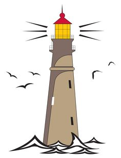 236x308 Traditional Lighthouse Tattoo