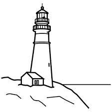 225x225 Coloring Pictures Of Lighthouse Kpc Embroidery