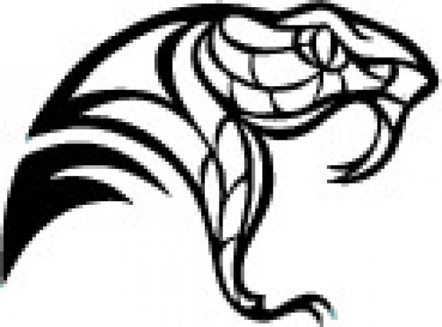626x463 Snake Head Clip Art