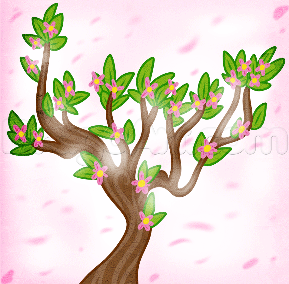 Drawings of spring flowers free download best drawings of spring 954x938 how to draw a spring tree step by step trees pop culture mightylinksfo
