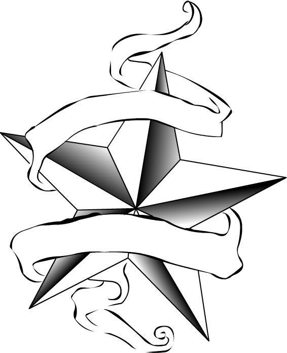 566x695 Drawings Of Stars Tattoos