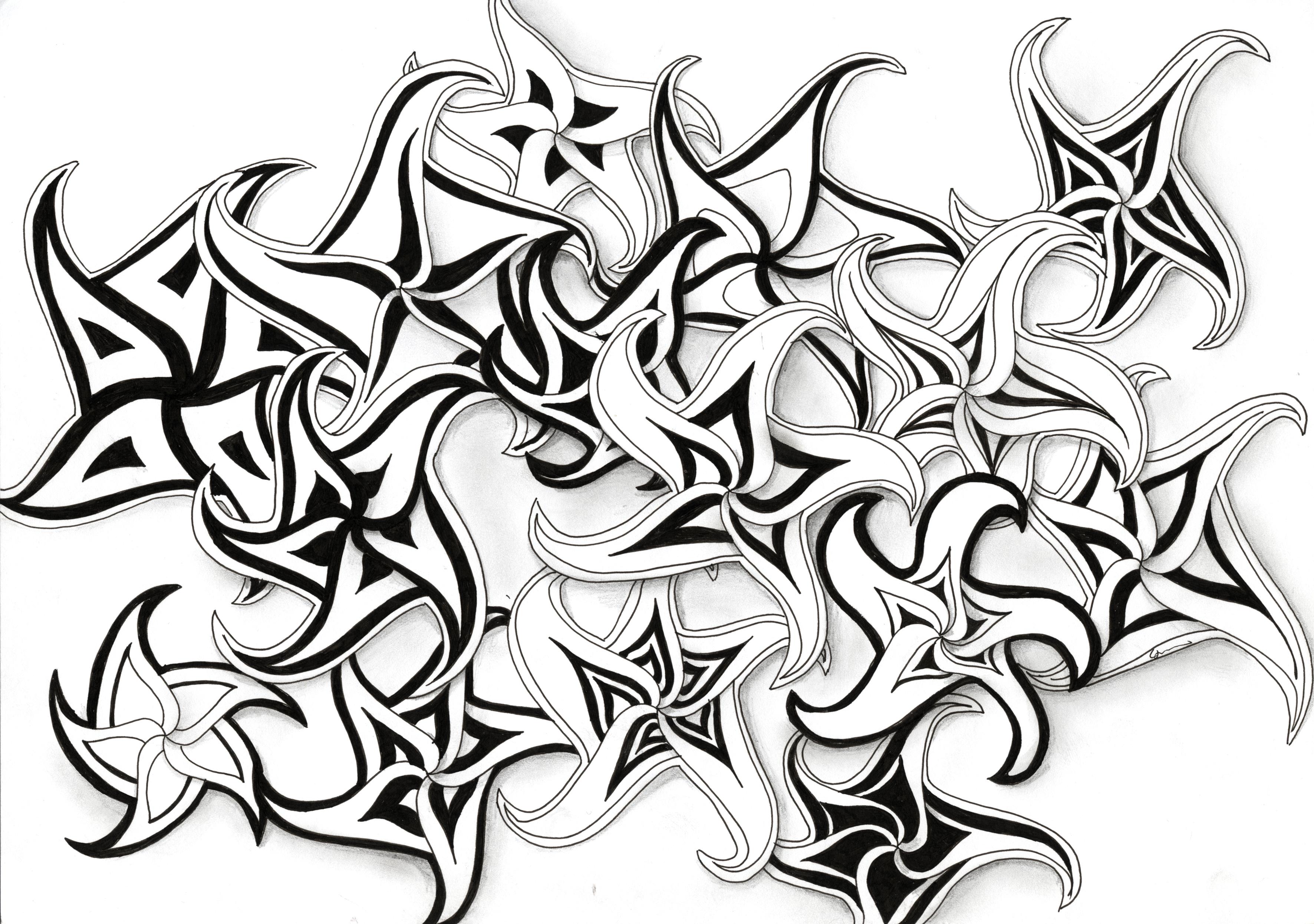 3543x2494 Drawn Star Shaded