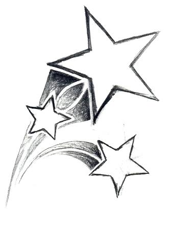 339x448 3 Shooting Stars By Brit333