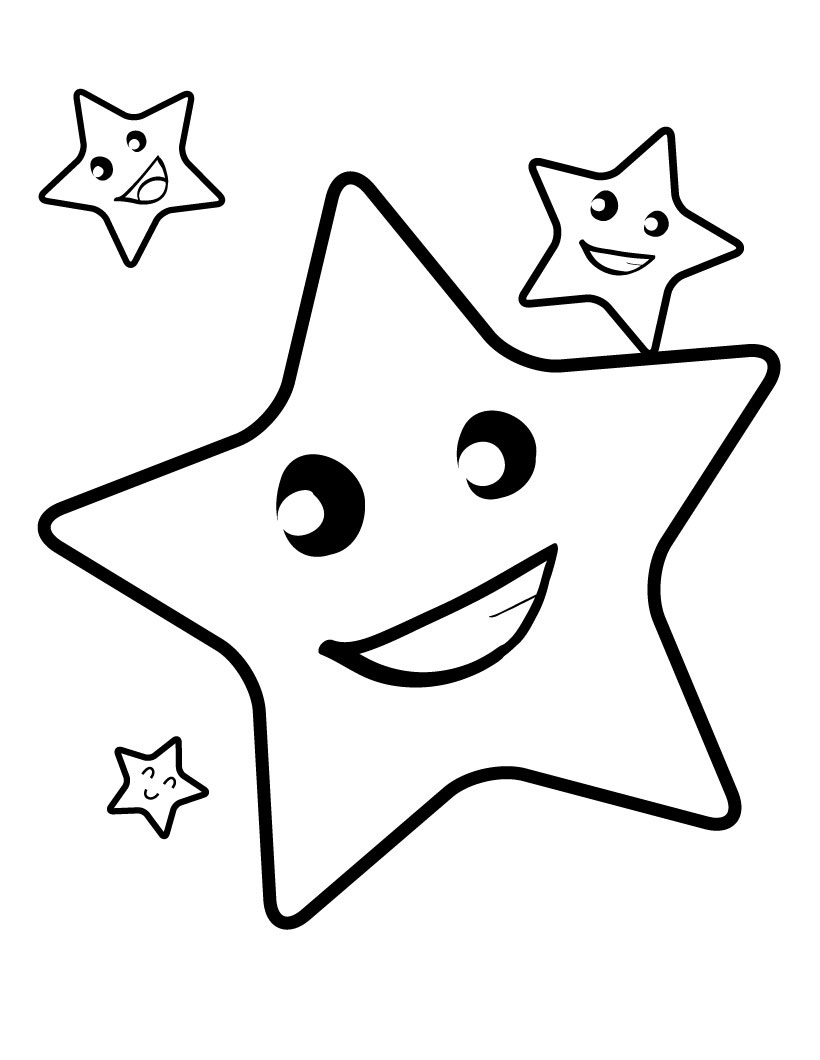 820x1060 Luxury Stars Coloring Pages 11 On Line Drawings With Stars