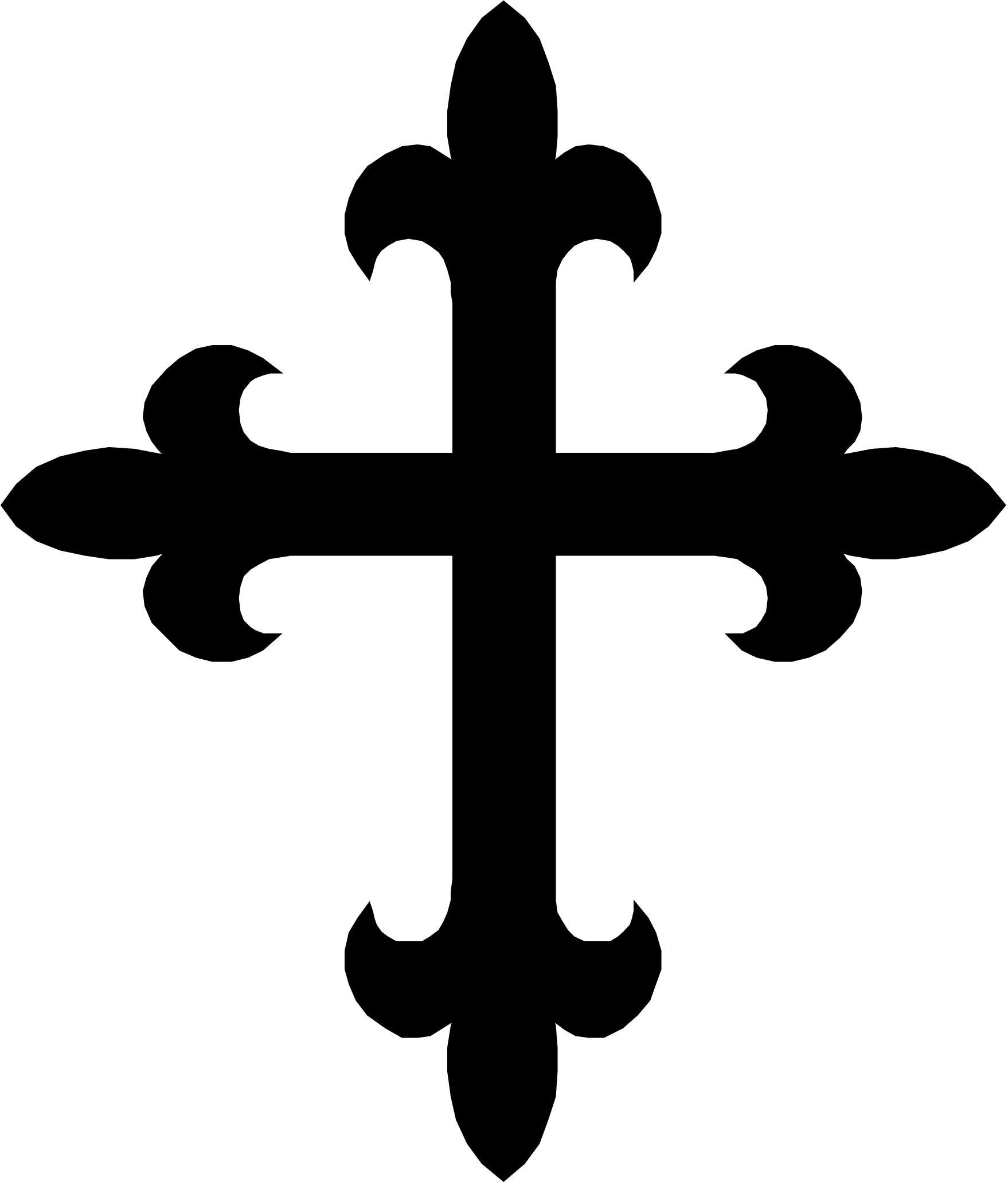 1758x2062 Drawn Cross Medieval