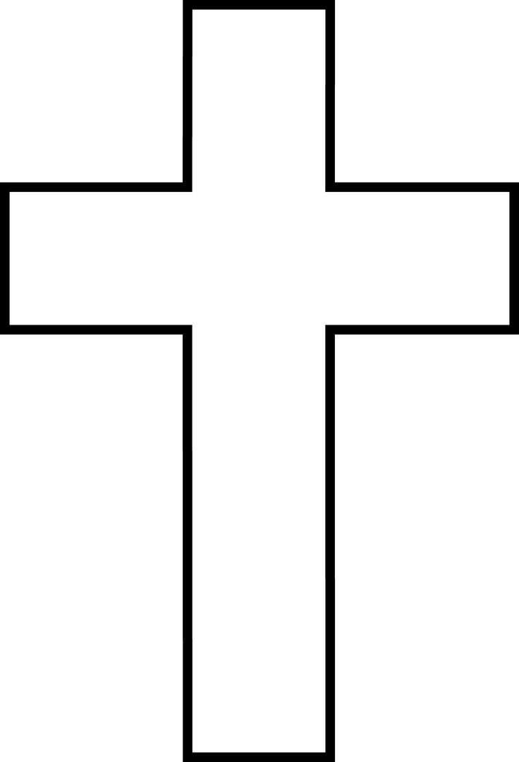 736x1080 21 Best Cross Tattoo Outlines Images Art Crafts