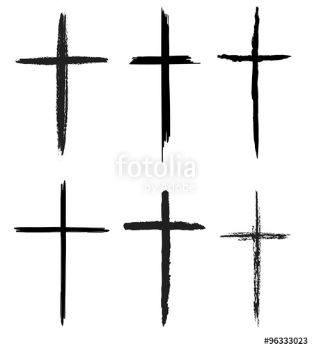 448x500 Hand Drawn Crosses Set Stock Photo And Royalty Free Images