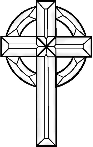383x600 Stained Glass Patterns For Crosses Stained Glass Patterns Cross