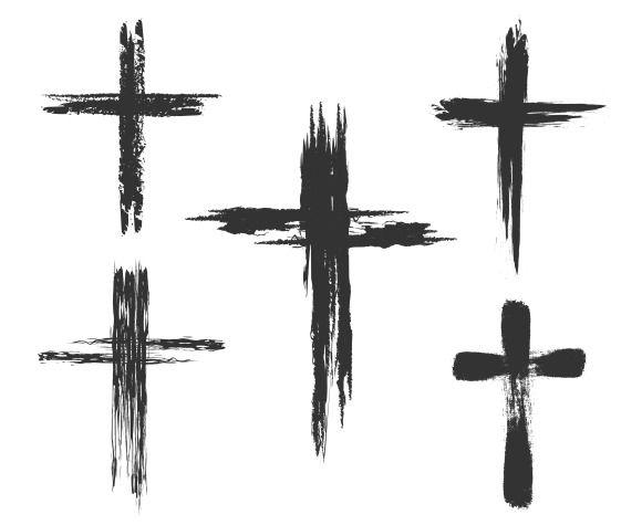 580x475 Best Christian Cross Tattoos Ideas Anchor Heart