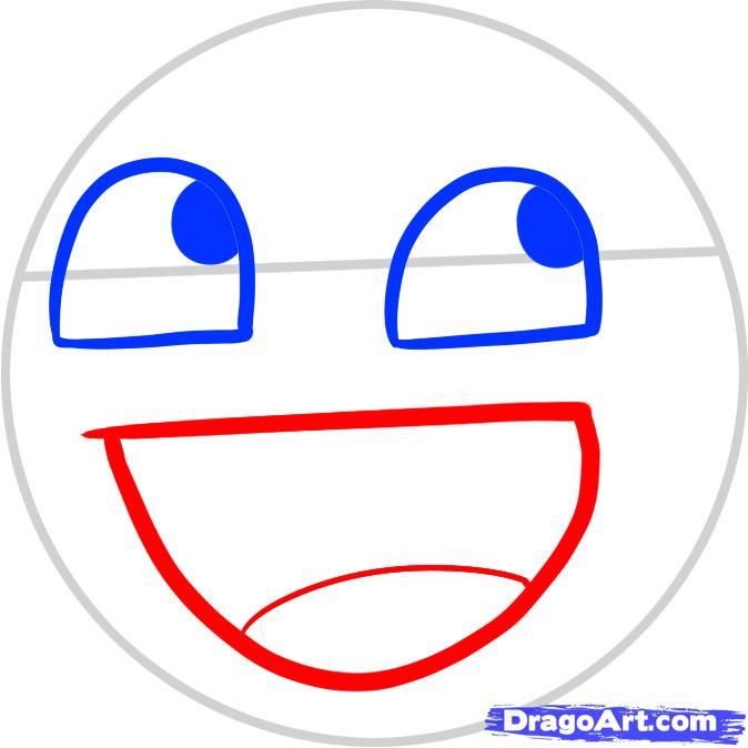 674x674 Drawn Smileys Drawing