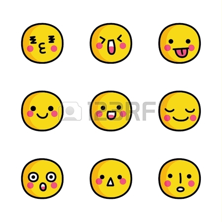 450x450 Hand Drawn Smiley Faces Doodle Royalty Free Cliparts, Vectors,