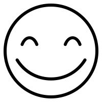 200x200 Silly Smiley Faces Black And White Vector Smiley Faces Funny