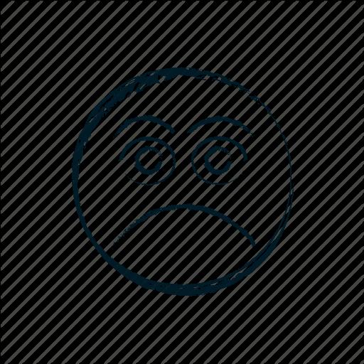 512x512 Avatar, Dissapointed, Emoji, Emoticon, Emoticons, Emotion Icon