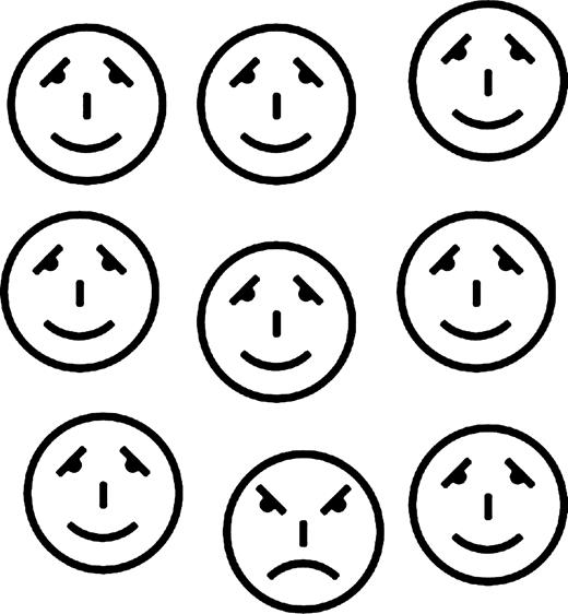 520x562 The Face In The Crowd Effect When Angry Faces Are Just Cross(Es