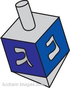 240x300 Hanukkah Dreidel Clip Art Cliparts
