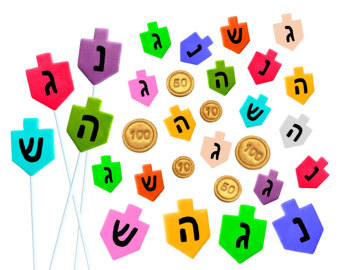340x270 Hanukkah Dreidel Etsy