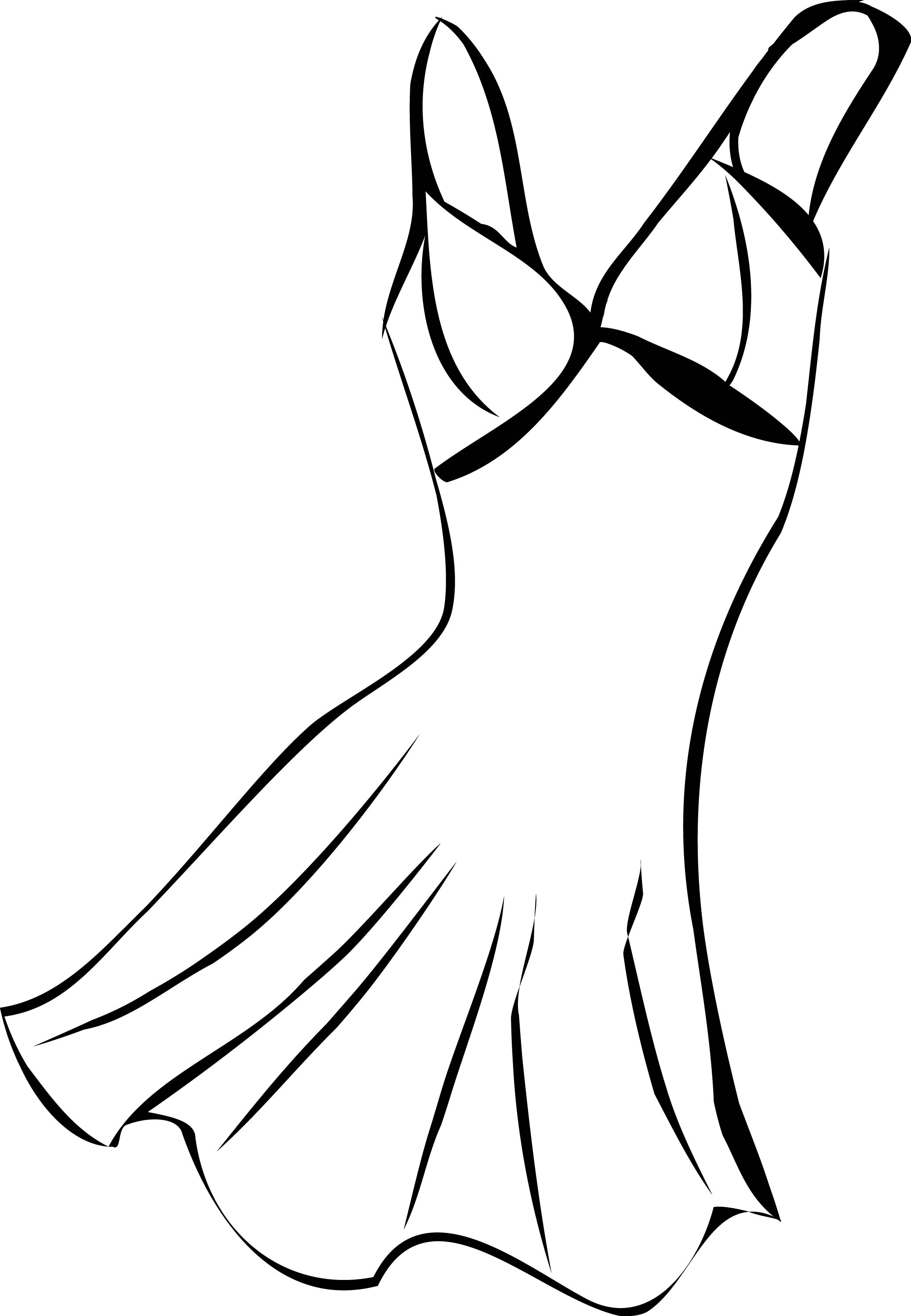 2072x2992 Vintage Dress Coloring Page Wecoloringpage