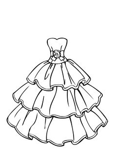 236x330 Wedding Dress Coloring Pages Kids Difficult Colouring Pages 21359