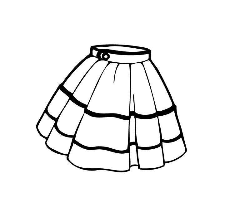 Dress Coloring Pages | Free download on ClipArtMag
