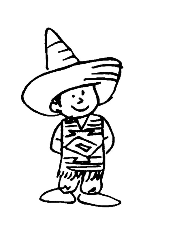 600x782 Charro Suit Mexican Dress Coloring Pages Color Luna