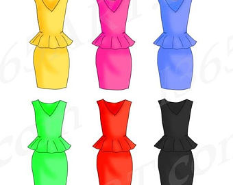 Dresses Clipart
