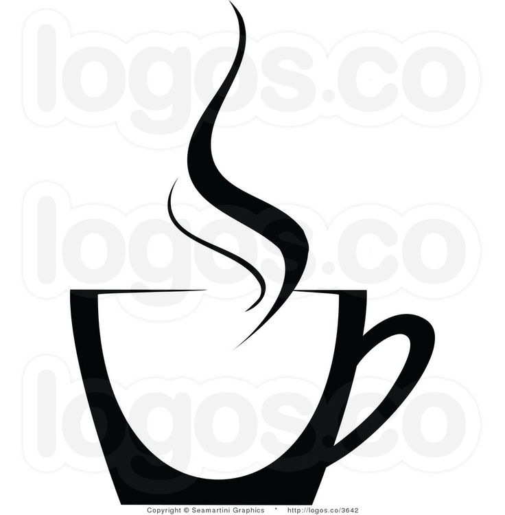 Drinking Coffee Clipart