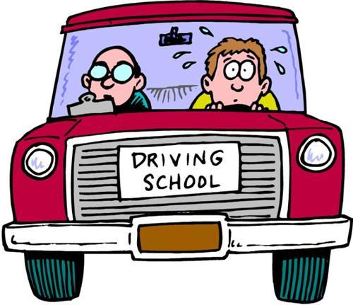 500x431 Driving School Clip Art Clipart Panda