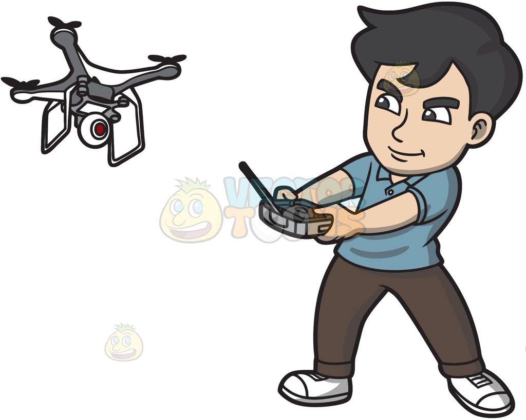 1024x819 A Man Aggressively Controlling His Drone With A Remote Control