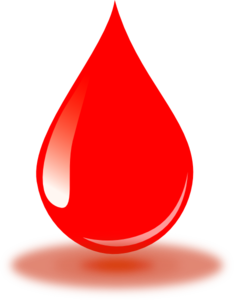 234x300 Real Red Blood Drop Clip Art