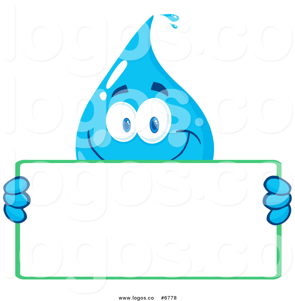 1024x1044 Royalty Free Clip Art Vector Logo Of A Water Drop Character