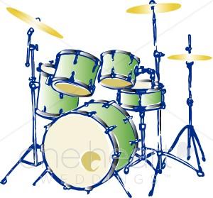 300x279 Drum Set Clipart Wedding Music Clipart