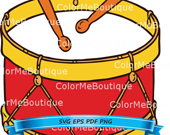 340x270 Drums Clipart Etsy