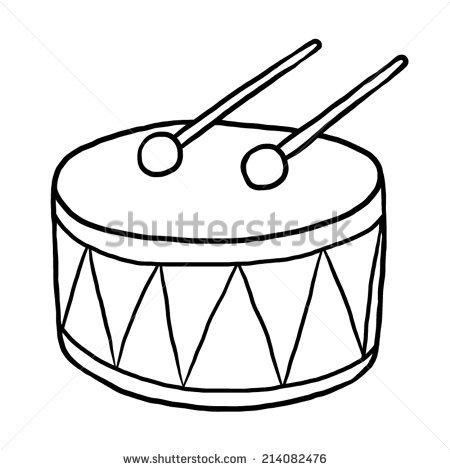 450x470 Drawing Clipart Drum