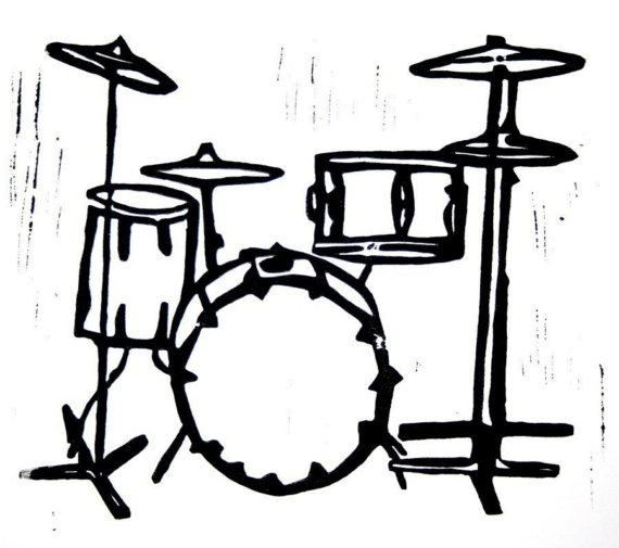570x505 Drum Set Clip Art Many Interesting Cliparts