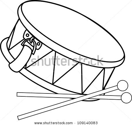 450x430 Instrument Clipart Snare Drum