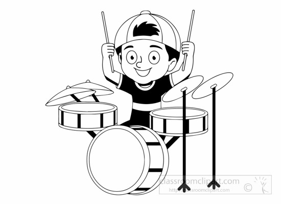 550x400 Music Black And White Free Black And White Music Outline Clipart