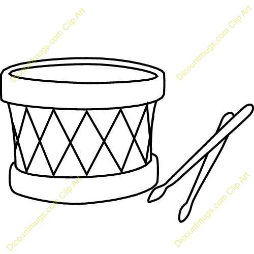 500x500 Drum Kit Clipart