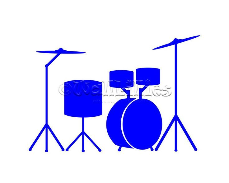 736x588 Blur Clipart Drum Set
