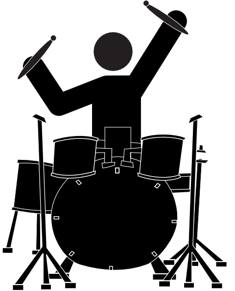 480x595 Boy Drummer Clip Art