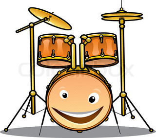 320x282 Cartoon Musician Kid. Vector Illustration For Children Music. Boy