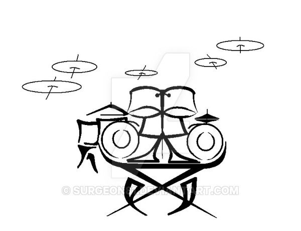 600x462 13 Best Drum Tattoo Images Design Tattoos, Drums