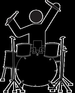 240x298 Boy Drummer Clip Art