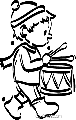 304x480 Boy Clipart Drum