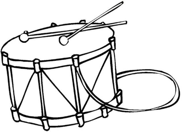 640x461 Drawn Instrument Drum Line