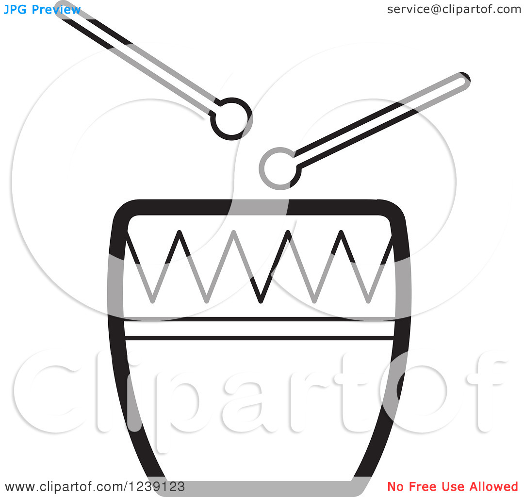 1080x1024 Drum Black And White Clipart 1931899