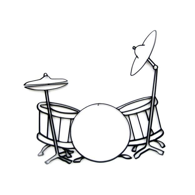 624x624 Decor Image Drum Set