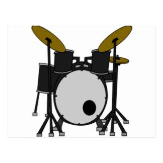 324x324 Drum Set Postcards Zazzle