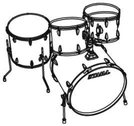 268x251 Tama Imperialstar Complete Drum Set